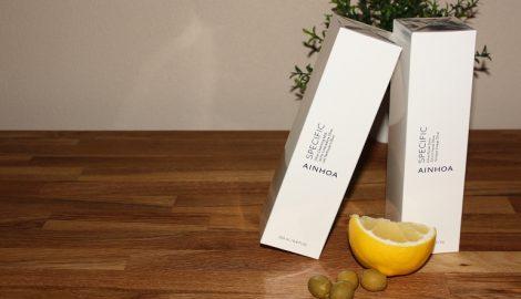Hudrens med olivenolje, citrus, vitamin E og C